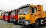 Dongfeng LHD Rhd 4*2 덤프 Turck 10 T에서 15 T 화물 자동차 팁 주는 사람 트럭