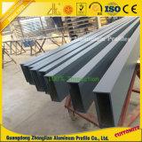 Soem-Aluminiumstrangpresßling-rechteckiges quadratisches Gefäß-Rohr-Profil