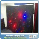 Tenda flessibile della tenda di goccia della stella del LED LED