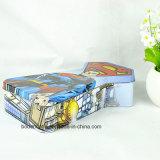 Kundenspezifischer Metallunregelmäßige Form-Zinn-Kasten für Geschenk