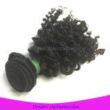 modernstes rohes unverarbeitetes verworrenes lockiges Jungfrau-Haar des Grad-8A