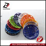 Eco 친절한 물자 최고 질 플라스틱 둥근 바 의자 Zs-201s