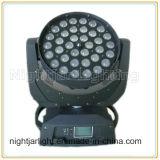 Tête mobile légère de disco d'éclairage d'étape de lavage de zoom de DEL 36PCS*10W 4in1 RGBW