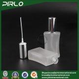 bottiglie di vetro del quadrato delle bottiglie di profumo di vetro glassato 40ml con il collo fine del filetto dello spruzzatore della foschia