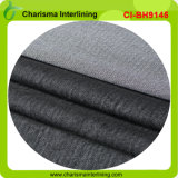 Почищенная щеткой плавкая ватка Interlining для пальто и кашемира