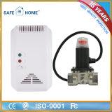 Профессиональный беспроволочный двойной детектор датчика газа для семьи
