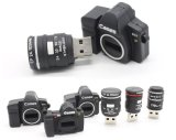 Gift Camera Shaped Flash Pen Drive Stick Memory USB