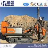 Plataforma de perforación portable de Hfg-45 DTH