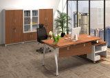 Стола ноги металла цвета дуба таблица офиса стального деревянная (HX-AD8022)