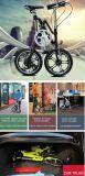 Projeto da X-Forma peso leve de dobramento da bicicleta de 16 polegadas