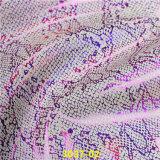 Cuero artificial PU Material Impreso de moda para la Industria del Calzado