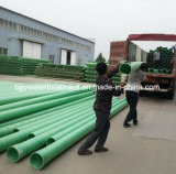 Tubo de Dn50-4000mm FRP/GRP para el agua o el petróleo