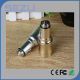 Портативный заряжатель автомобиля USB 5V 3.1A для мобильного телефона
