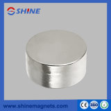 Nickle Plated Permanent NdFeB Cylinder Magnet