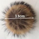 Fiocchetto della pelliccia del ponte/Raccoon della pelliccia POM del Raccoon/sfera pelliccia del Raccoon