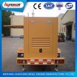 Weichai 160kwの予備発電のための携帯用トレーラーのタイプ発電機セット