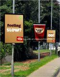 Personalizar Frontlit PVC material de vinilo retroiluminado Flex banner de publicidad o promoción de la gran cuestión Eco-Solvent disolvente de la impresión digital