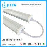 Dispositivo ligero los 5FT del tubo enlazable del LED con la luz doble del tubo de la UL ETL Dlc