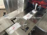Colher de plástico automática da faca dos garfos da máquina de embalagem