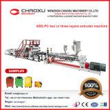 Linea di produzione della valigia dei bagagli di ABS/PC Cina macchinario di plastica dell'espulsore