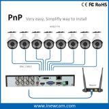 8CH CCTV P2p de Onvif DVR