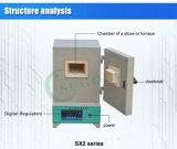 Série de alta temperatura do forno de mufla Sx2 do laboratório