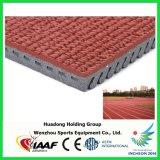 След синтетической резины Iaaf идущий для следа спортзала, поля и спортов используемого стадионами резиновый идущего