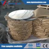 焦げ付き防止の台所用品または調理器具のための高品質0.36~8mmのアルミニウム円