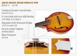 Mandolin Maw006 джаза Cutway тавра Aiersi твердый елевый верхний двойной