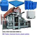 Blau färbt Ladeplatten-Strangpresßling-Blasformen-Maschine