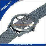 Wristwatch кварца полосы специальной каркасной шкалы Milanese