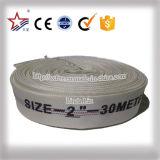 Pressão 6-20bar dos fornecedores da tela da lona do algodão da mangueira de incêndio