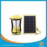 Indicatore luminoso di campeggio solare moderno modificato con le funzioni multiple