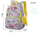 Saco dobro de venda quente da trouxa do saco de escola da impressão dos desenhos animados do ombro
