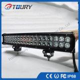 Barre pilotante d'éclairage LED de rangée de la lumière 108W de la jeep DEL de camion de véhicule double