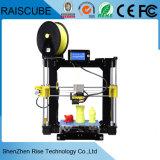 Imprimante de l'appareil de bureau 3 D de Fdm de haute précision du lever de soleil 210*210*225mm de Raiscube