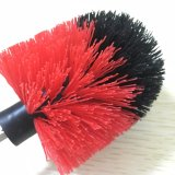 Hogar usar el taladro de la herramienta que limpia el cepillo rotatorio para el cuarto de baño