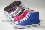 Mehr als 10 Farben-grundlegende Segeltuch-Schuhe (SNC-210005)