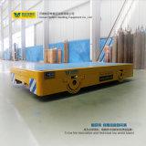 Capacidad de cargamento motorizada carretilla eléctrica del carro 25t de la transferencia de la transferencia