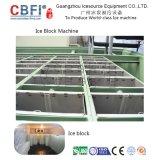 Equipamento de refrigeração Cbfi 1-100 toneladas Bloquear a máquina de gelo