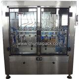 Máquina de rellenar líquida linear automática