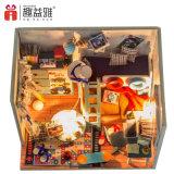 2017 Новые поступления с подсветкой и мебель DIY миниатюрный Dollhouse