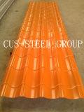 Materiales para techos de hojas de perfil ondulado Trimdek Colorbond/