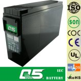 projetos dianteiros da telecomunicação da bateria do gabinete de potência da bateria de uma comunicação da bateria do UPS EPS do AGM VRLA do terminal do acesso do tamanho 12V180 (capacidade personalizada 12V200AH)