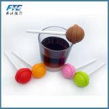 Le silicium infuser le thé sucré Candy Lollipop Feuilles crépine mug