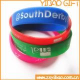 Bracelet de silicones de Debossed pour le cadeau promotionnel (YB-LY-WR-03)