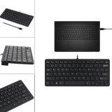 78 Schlüssel-mini dünne Multimedia-USB verdrahtete externe Tastatur für Notizbuch-Laptop PC Computer (KB-169L)