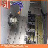 3개의 축선 수평한 CNC 선반