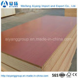 Melamina contínua do cor/a de madeira da grão enfrentou o MDF para a mobília/decoração