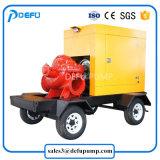 750gpm高品質のディーゼル機関の分割された箱の消火活動ポンプULはリストした